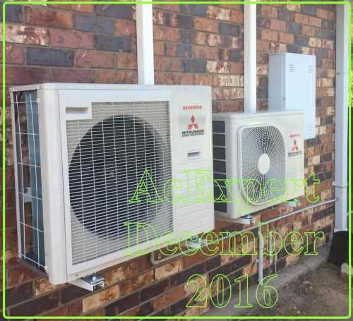 gold coast air con installs split system in Arundel