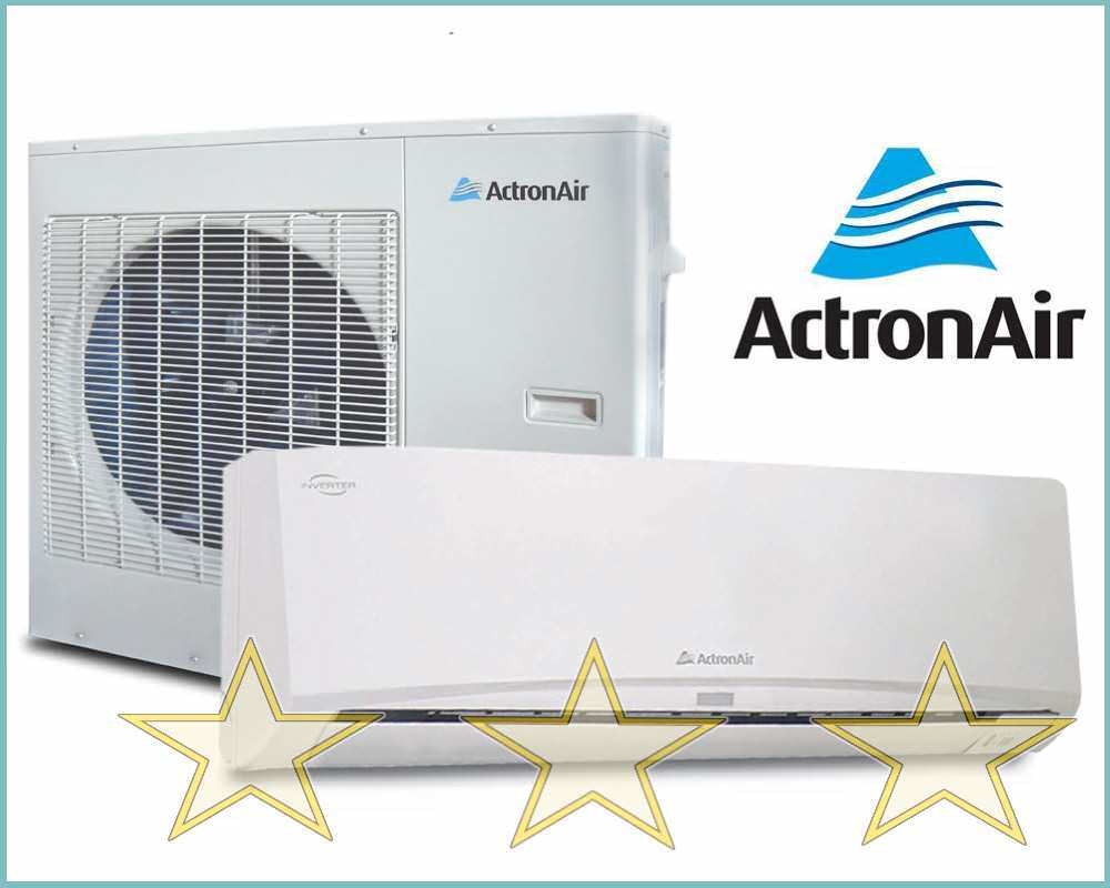Actron example of air conditioning experts page of mid range split system