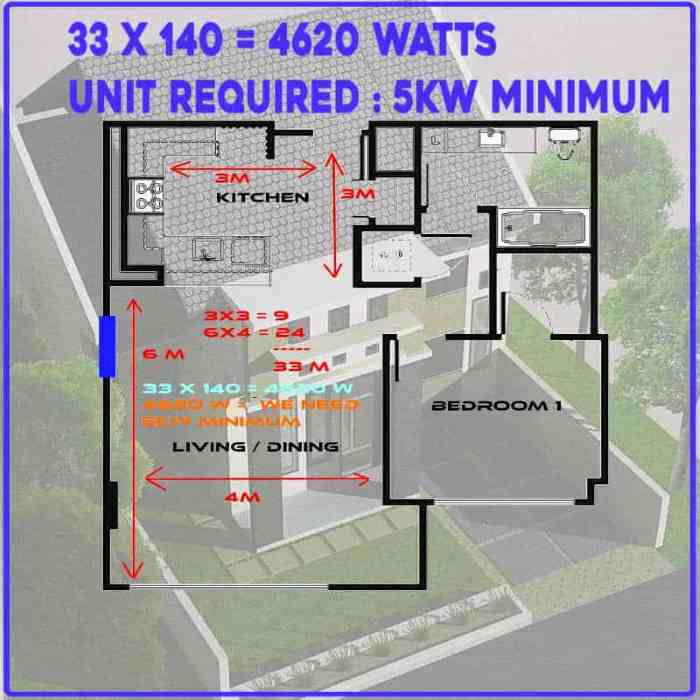 air conditioning plan of unit for right size air conditioner page