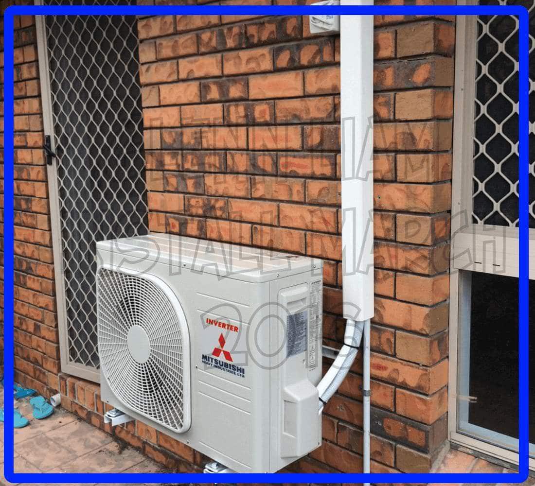 split air conditioner installation pdf