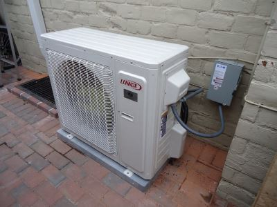 very poor air conditioner installation example. Compare that to our installations