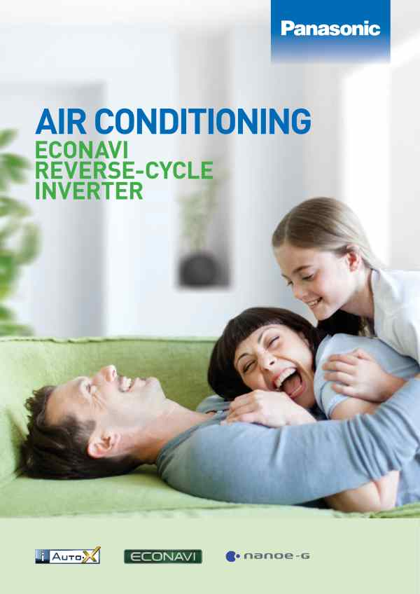 Panasonic brochure product range air conditioner user guides for ACExpert Brisbane