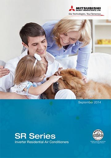 Mitsubishi brochure product range air conditioner user guides for ACExpert Brisbane