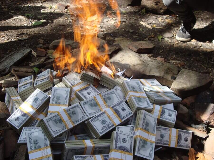 burn money on a second hand air conditioners