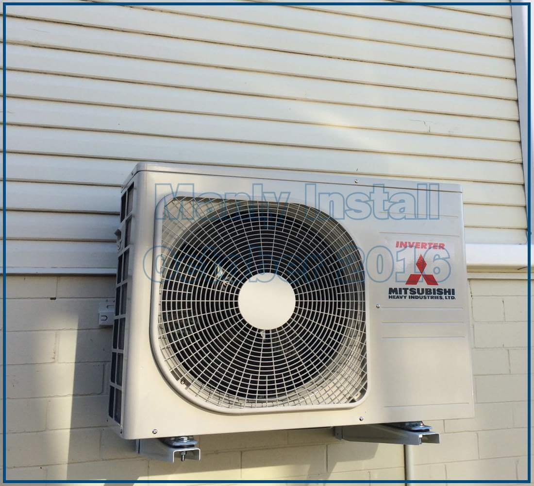 split system air conditioners example install brisbane 11