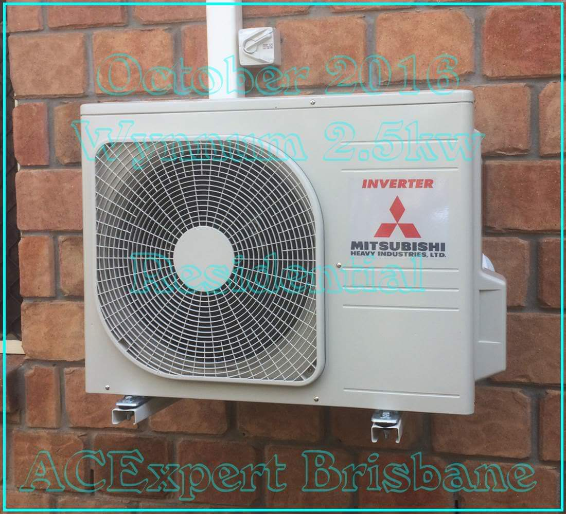 split system air conditioners example install brisbane 9