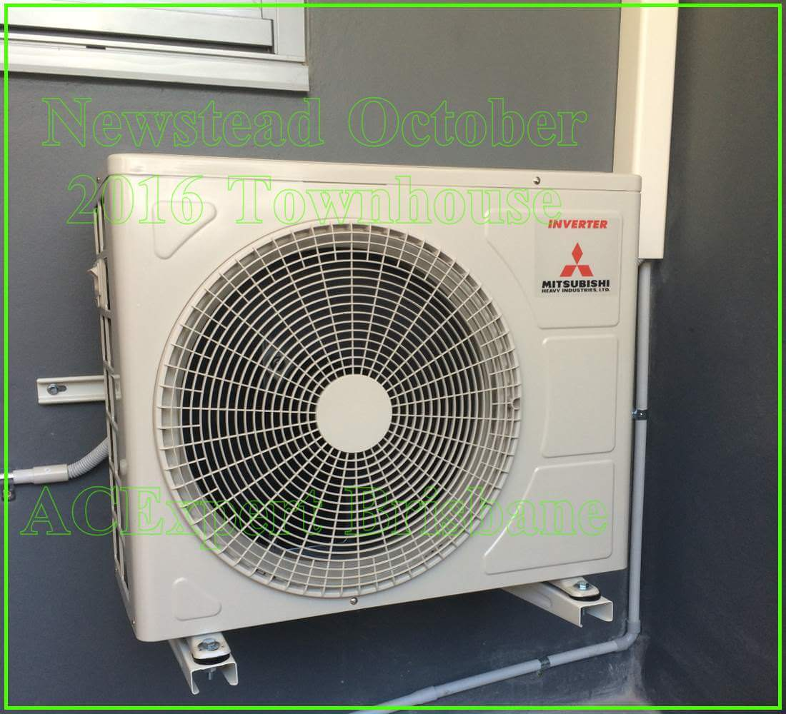 split system air conditioners example install brisbane 4