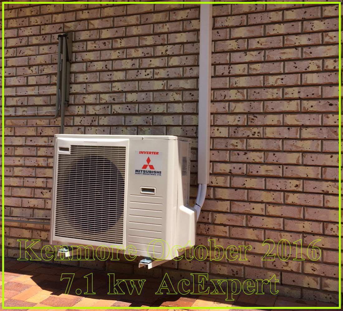 split system air conditioners example install brisbane 10