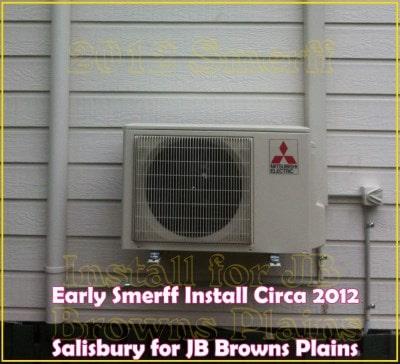 Smerff prehistoric install brisbane air con installs