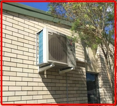 Gold Coast air con installs example Nerang