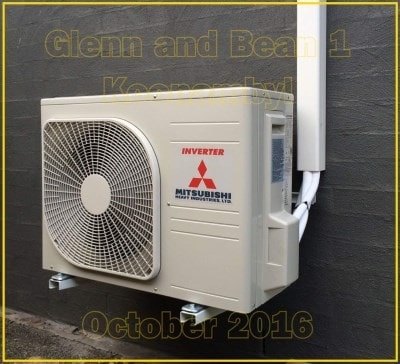 air conditioning installation expert brisbane tingalpa job