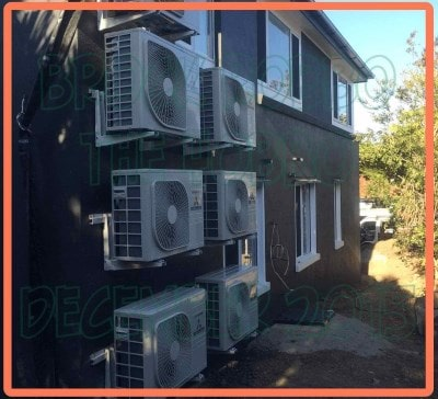 gold coast air con installs split system in paradise point
