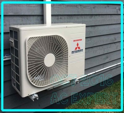 gold coast air con installs split system in molendinar