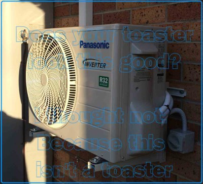 air conditioner sound example AC expert Panasonic Installation 2017