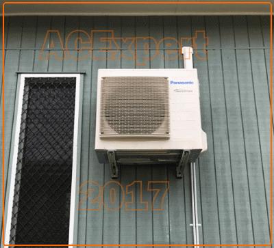 Panasonic air conditioner installation