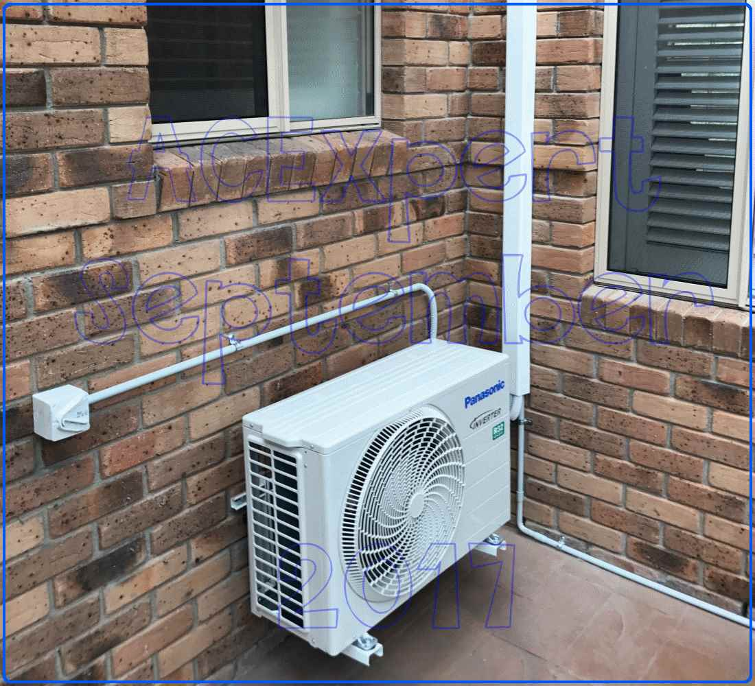 Panasonic Summer air conditioning installs 2017