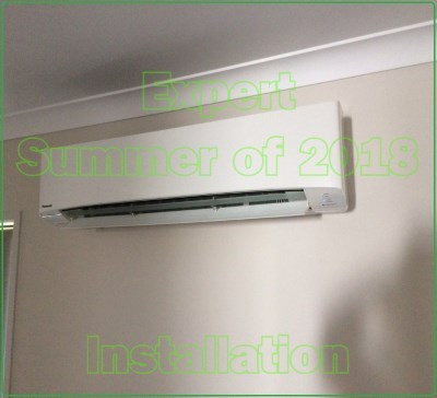 Air Conditioners installed in brisbane by the expert summer Panasonic example 1