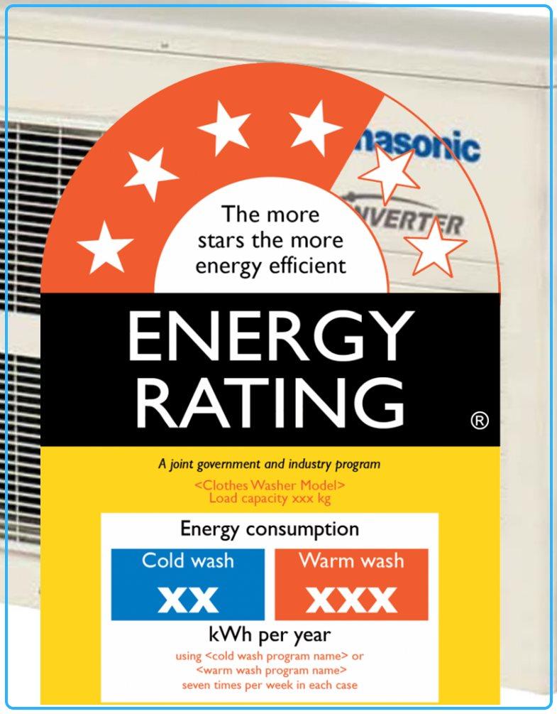 Energy efficient appliance rebate logo for air conditioning expert Brisbane