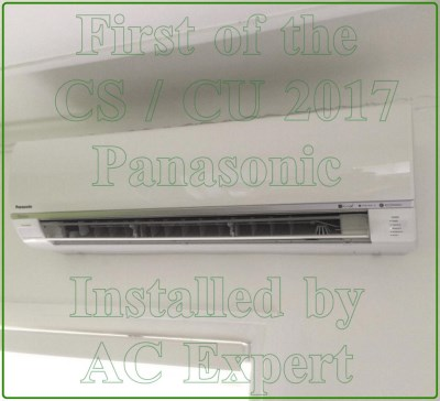 Air conditioning expert installation of Panasonic split system 2017